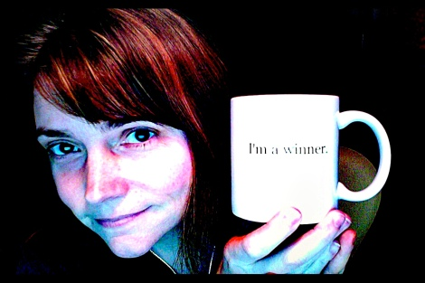 Rebecca Meacham with her Photogene prize.